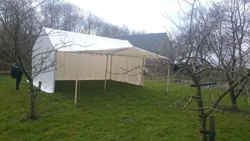 Tent voor de Romeinen